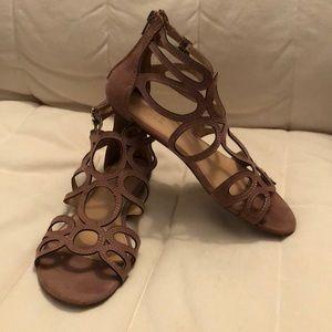 Lauren Conrad Taupe Gladiator sandals size 8